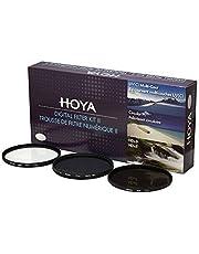Hoya Digitale filterkit (43 mm) inclusief Circular poolfilter/ND-filter (NDx8)/HMC-C, UV-filter YKITDG043 zwart