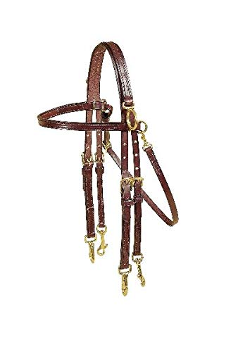 - Tory Leather - Arabian Size Double Bridle Side Check Headstall