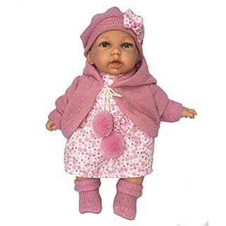 Antonio Juan Dolls - 11 Inch Petit Gorra Doll, Pink