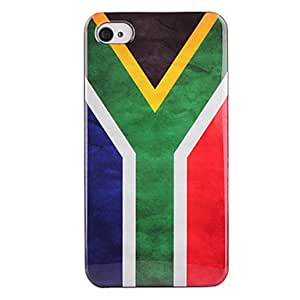 South Africa Flag ABS Back Case for iPhone 4/4S