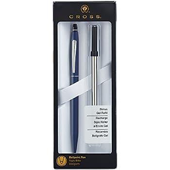 Cross Click Midnight Blue Ballpoint Pen with Slim Gel Refill (AT0622S-121)
