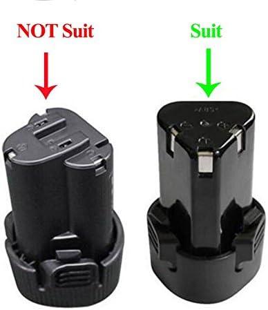 Model B Chargeur de batterie de rechange pour Makita BL1013 BL1014 10.8V-12V Lithium-ion Batteries DC10WA Perceuse /électrique Outils de tournevis Alimentation