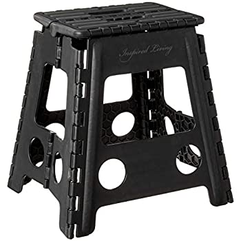 Amazon Com Acko Black 18 Inches Non Slip Folding Step