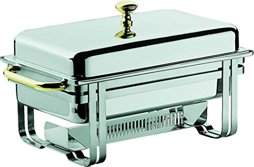 Mepra Rectangular Chafing Dish with Removable Cover