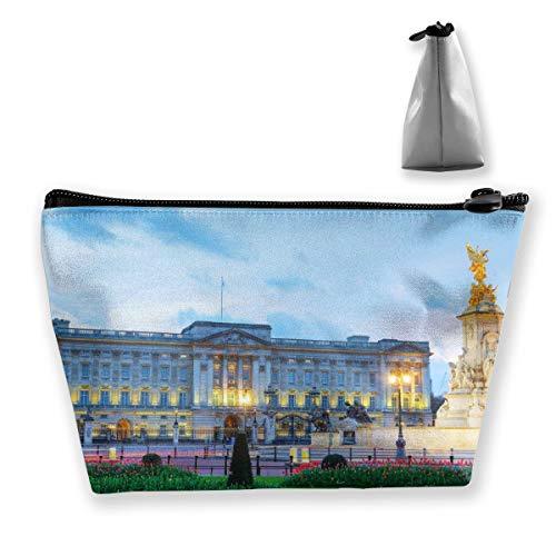 Buckingham Palace Makeup Bag Multifunction Travel Portable Trapezoidal Storage Pouch Storage Sewing Kit For Women,girls