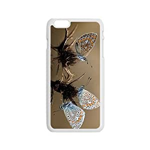 Butterfly Couple Hight Quality Plastic Case for Iphone 6