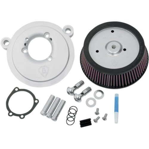 Arlen Ness 18-500 Big Sucker Stage 1 Air Cleaner Kit with Plain Backing Plate for 1993-1999 Harley Softail FLH FLHT Dyna