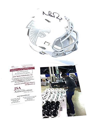 - Matt Ryan Atlanta Falcons Signed Autograph ICE Mini Helmet JSA Certified