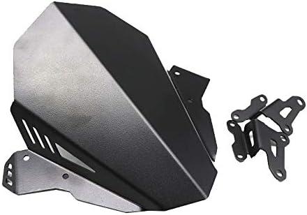 Cavis Car/éNage de Pare-Brise en Aluminium CNC Moto Adapt/é pour MT09 MT-09 FZ09 2017-2020