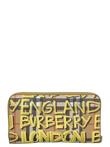 Cuero Burberry Billetera Mujer Amarillo 4075159 warCqwtBn