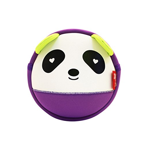 Nohoo Kids shoulder bag 3D Cute Zoo Cartoon School panda crossbody