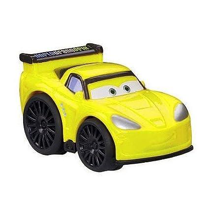 Amazon Com Disney Pixar Jeff Gorvette Cars 2 Wheelies Toys Games