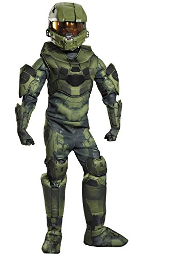 Master Chief Prestige Costume, Large (10-12) - Boot Grabber