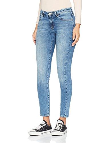 Blue 94o best Jeans Skinny Para Wrangler Mujer Azul OHYxnP1
