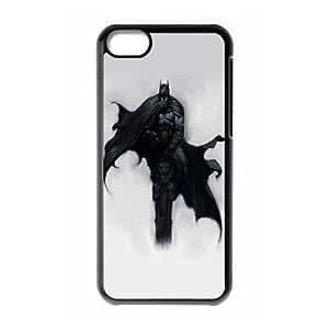 Batman Comic iPhone 5c Cell Phone Case Black TPU Phone Case SV_327947