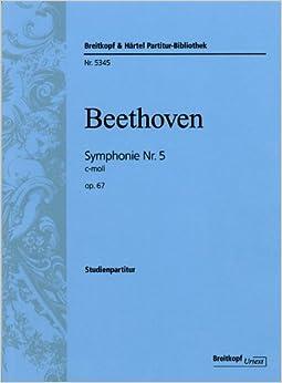 ベートーヴェン: 交響曲 第5番 ハ短調 Op.67 「運命」/ブライトコップ & ヘルテル社/スコア