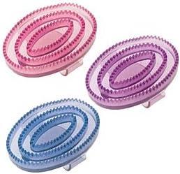 Rosa erhältlich in 3 Farben: Violett Blau William Hunter Equestrian Glitzer- Gummistriegel