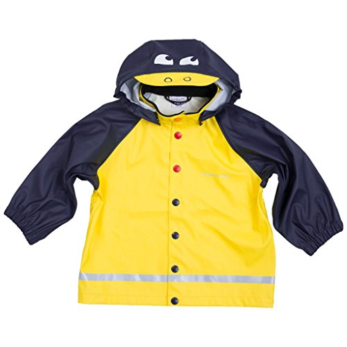 - Polarn O. Pyret Two Tone RAIN Jacket (Baby) - 6-12 Months/Maize