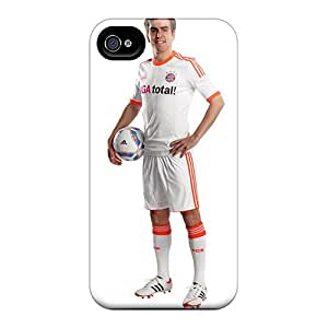 Rugged Skin Cases Covers For Iphone 6- Eco-friendly Packaging(the Best Football Player Of Bayern Philipp Lahm)