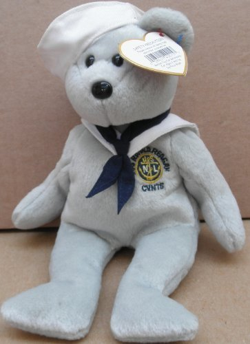 2424e5a380a Amazon.com  TY Beanie Babies Ronnie the Sailor Bear Plush Toy ...