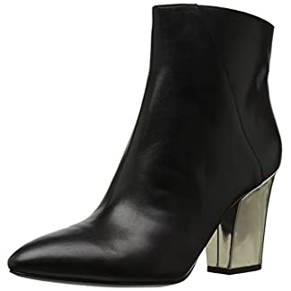 NINE WEST Women's Savitra Leather Ankle Boot 9