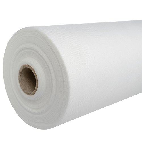 1 Perforated Roll, White Disposable Non-Woven Exam Bed Cover, 55 Sheets, 24 Inches X 330 Feet Massage Bed Sheets Disposable Bed Sheets Table Covers ()