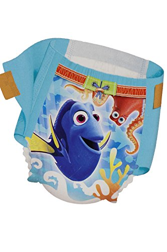 Huggies Little Swimmers Disposable Swimpants Large - Bonus 56 Wipes Included! by Huggies (Image #2)