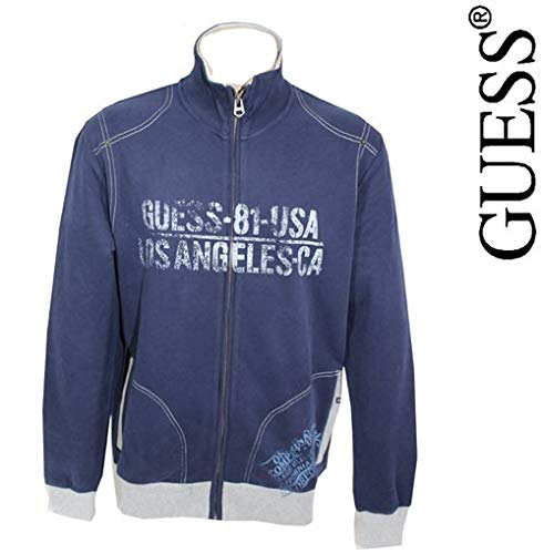 Guess - Veste ZIPPEE Marino Mix and Match - marino - hombre: Amazon.es: Ropa y accesorios