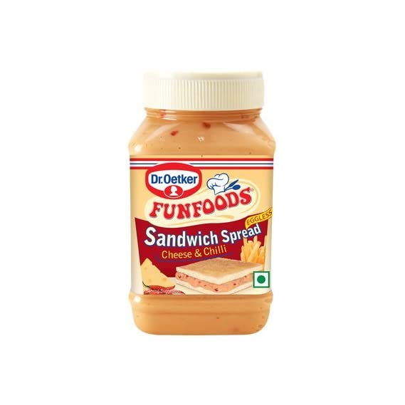 Funfoods Sandwich Spread - Cheese and Chilli, 275g