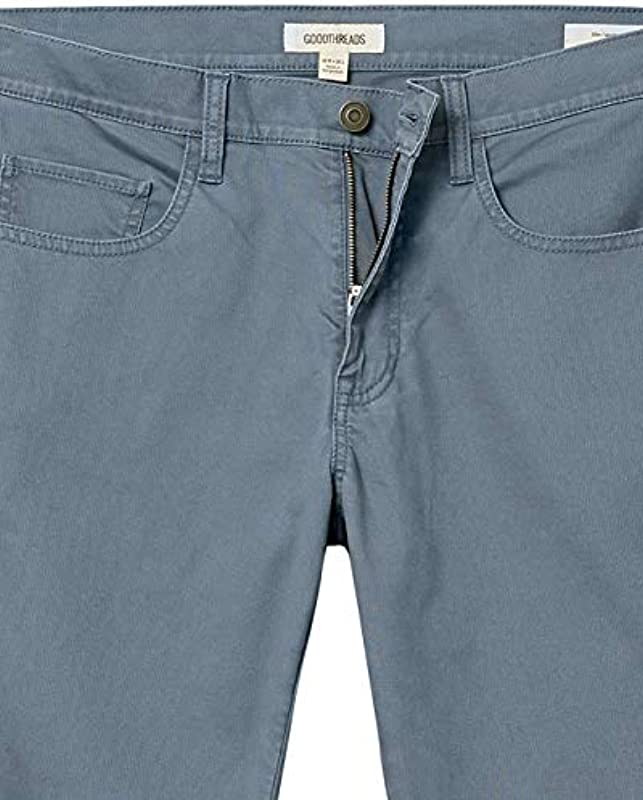 Amazon-Marke: Goodthreads Męskie Slim-fit Bedford Cord Pant: Odzież