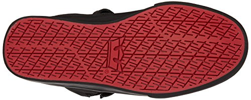 Supra SOCIETY II Unisex-Erwachsene Hohe Sneakers Schwarz (BLACK - BLACK   RCS)
