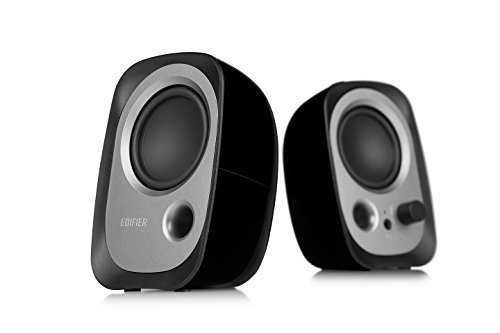 Edifier R12U Stereo Computer Bookshelf Active Speakers - Bla