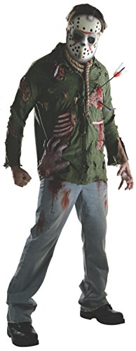 Rubie's Men's Friday The 13Th Deluxe Adult Jason, Multicolor, -