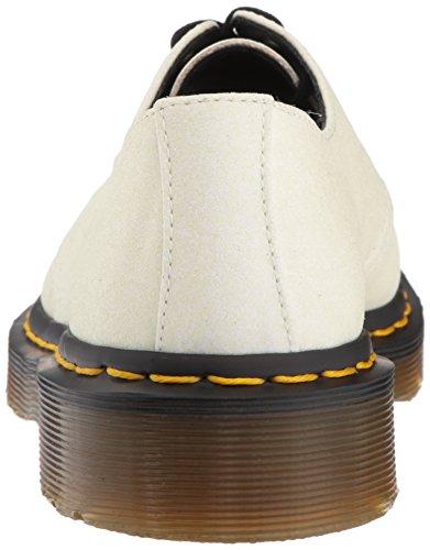 Dr. Martens Femmes Blanc / Aurora Violet Glitter 1461 Chaussures