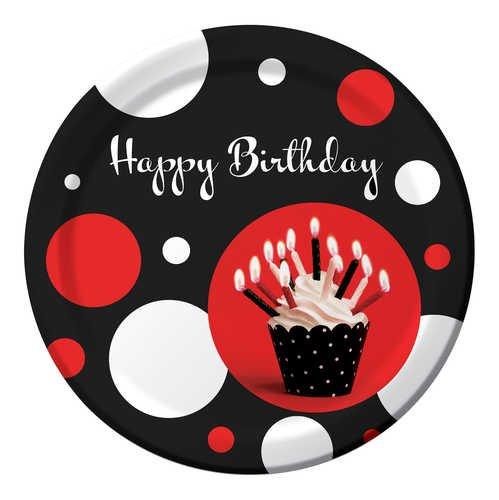 Creative Converting Cupcake Blowout Birthday