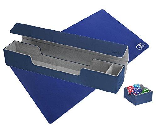 Ultimate Guard Bundle: Dark Blue Flip'n'Tray Mat Case + Ultimate Guard Dark Blue Mat by Ultimate Guard