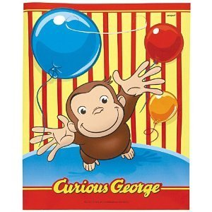 Toy / Game Party America Curious George Colorful Treat Bags, 8ct - Great Party Favor (Ages 1 Year And Up)]()