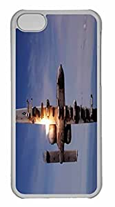 iPhone 5C Case, Personalized Custom War Airplane 33 for iPhone 5C PC Clear Case