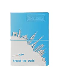 Fashionable Colorful Passport Holder Case Cover Travel Wallet #1