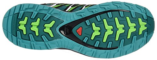 Zapatillas Salomon Teal para de Trail Veridian Green Blu L39071300 Tonic Mujer Running Verde Green 55rqH
