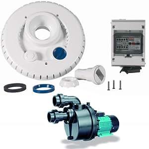 Espa–ncr2nadorself 300Mono–Kit Bomba 63M3/H + Facade + Kit eléctrico para natación a contra corriente