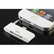 30 Pin to 8 Pin adapter converter dock support iPhone 5 5S 5C iPhone touch AUDIO adapter iPhone 5 5S 5C, iPod Touch