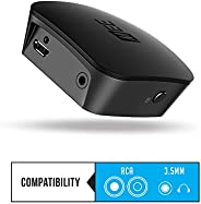 MEE audio DualStream S1 Headphone and Speaker Bluetooth Wireless Audio Transmitter/Streamer with aptX Low Late