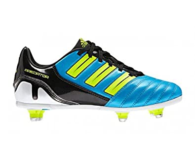748619479fc1 ADIDAS Predator Absolado SG Men's Football Boots, Black/Blue/Yellow, UK8:  Amazon.co.uk: Shoes & Bags