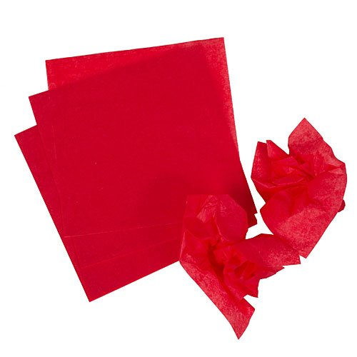 Of course, you could spend hours cutting tissue paper into squares if you have time to spare. If you're like me, though, these pre-cut tissue paper squares make crafting more delightful. Get yours now!