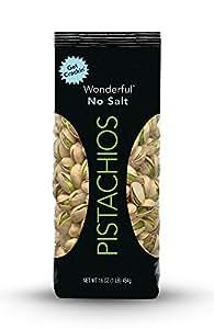 Wonderful Pistachios Roasted with No Salt, 16 Ounce