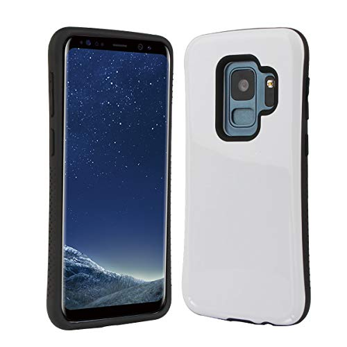 Samsung Galaxy S9 Case | Premium Luxury Design | Military Grade 15ft. Drop Tested | Wireless Charging | Compatible with Samsung Galaxy S9 - White