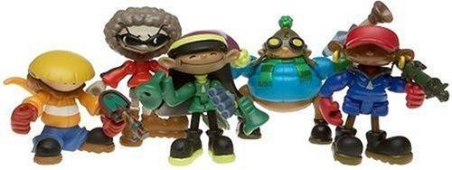 Codename Kids Next Door KND Collector Gift set Figures by Cartoon (Knd Codename Kids Next Door)