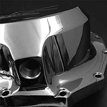 Chrome Right Engine Clutch Cover for Suzuki Hayabusa Gsxr1300 1999-2013 B-King