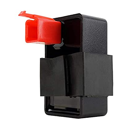 Fuel Pump Relay For Kawasaki Ninja ZX-6 ZX6 ZX-6R ZX6R ZX-7 ZX7 ZX-7R ZX7R ZX-7RR ZX7RR ZX-9R ZX9R ZX-11 ZX11 / ZZR 600 ZZR600 / ZZR 1200 ZZR1200 / GPz 1100 ZX1100 1989-2008 OEM Repl.# 27002-1065: Automotive